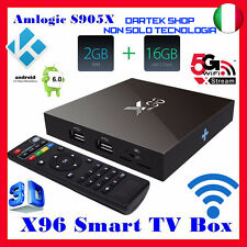 Multimedia S905 2GB 16GB Android 6.0 IPTV Amlogic X96  Decoder KODI TV BOX 4K