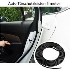 KFZ Tür Kante Schutz Anti-Kratz Gummileiste Auto Türschutzleisten 5Meter schwarz