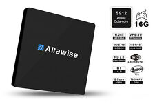 Alfawise S92 TV Box Octa Core Amlogic S912 Android 6.0