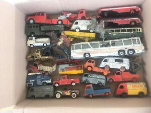 dinky toys corgi cij tekno autre gros lot de camions pour bricoleur