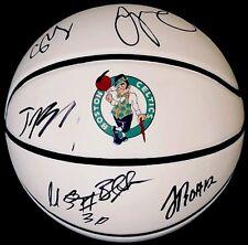 2018 BOSTON CELTICS TEAM Signed Autographed Logo Basketball COA! TATUM/SMART/TRO