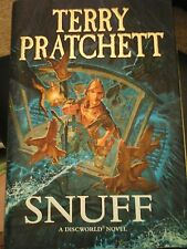 Snuff by Terry Pratchett - Hardback book 2011