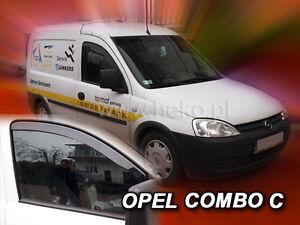 HEKO 25350 Windabweiser 2 teilig für OPEL COMBO C 2 türig Bj. 2002-2011