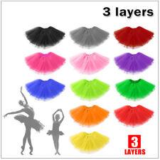 Girl Adults Baby Kids Tutu Skirt Princess Dressup Party Costume Ballet Dancewear