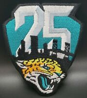 Jacksonville Jaguars~Anniversary~25 Seasons~Iron On Patch~Free Shipping from USA