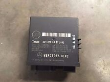 Mercedes Clase S W221 A2218706387 módulo de control de liberación de tronco