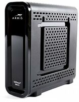 Arris SURFboard SB6121 DOCSIS 3.0 Cable Modem (Black, 5.2 By 5.2-Inch)