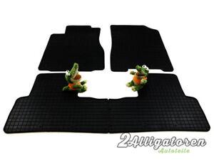 4 x Gummi-Fußmatten ☔ für HONDA CRV IV seitdem 2012
