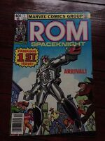 Rom Spaceknight #1 December 1979 origin and 1st appearance Rom The SpaceKnight