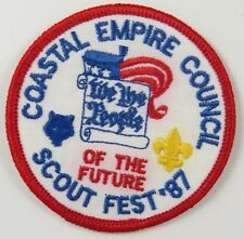 Coastal Empire Council 1987 Scout Fest, We The People of the Future [H3637]