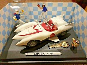 Unifive Cho Shin Gohkin chogokin Speed Racer GoGoGo Mach 5 1/18 diecast gimmicks