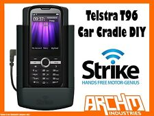 STRIKE ALPHA TELSTRA T96 CAR CRADLE DIY - BUILT-IN CHARGER SECURE HOLD PROTECT