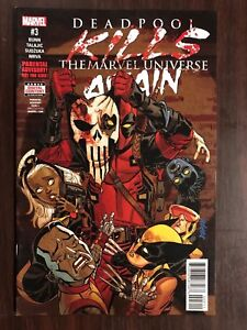 DEADPOOL KILLS THE MARVEL UNIVERSE AGAIN #3 FIRST PRINT MARVEL COMICS (2017)