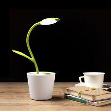 Iegrow Lámpara de escritorio Led Lámparas USB 5V 1W control Tactil verde