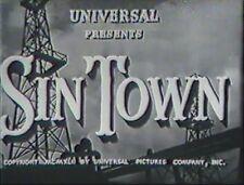 SIN TOWN 1942 CONSTANCE BENNETT, BRODERICK CRAWFORD,region free DVD