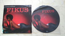 Fikus A Woman Of Affairs Rare Sexy Black Afro Girl Picture Disc LP