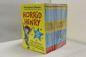 Horrid Henry Complete Story 24 Books Children Collection Paperback-DAMAGED