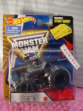 SOLDIER FORTUNE BLACK OPS #46☆☆New Truck☆2016 MONSTER JAM Hot Wheels☆Stunt Ramp