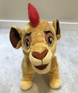 "Disney Store Lion Guard Kion 15"" Plush Stuffed Animal Toy Figure Lion King Story"