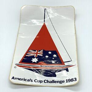 Vintage America's Cup Challenge 1983 Australian Sailboat Sticker