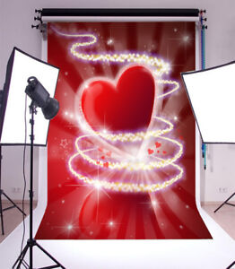 Valentine'S Day Love Photo Backdrops Vinyl Photography Background Children 3x5FT
