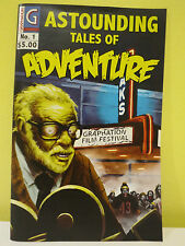 Astounding Tales of Adventure no. 1 Tales From The Crypt Inspired Zombie Comic