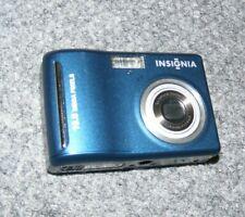 Insignia NS-DSC10B 10MP Megapixel Digital Camera Blue 3x Optical Zoom TESTED