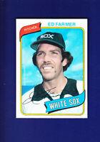 Ed Farmer 1980 TOPPS Baseball #702 (MINT) Chicago White Sox