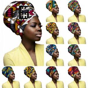 African Headwrap Women's Hair Accessories Scarf Wrapped Head Hir Hat Headwrap