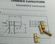 1 x at27291 sapphire trimmer temex-tekelec 0.8-8pf/500v Johanson 27291 (m1615)