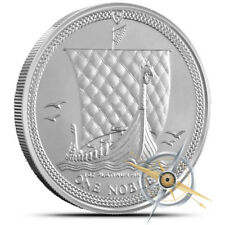 Isle of Man 1 oz .9995 Fine Platinum Noble Coin - Gem BU - Dates our Choice