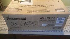 PANASONIC DIGITAL DISK RECORDER WJ-HD100