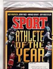 Sport Athlete of the Year Jerry Rice Horace Grant Jeff Hostetler Jant-95 (OZ107)