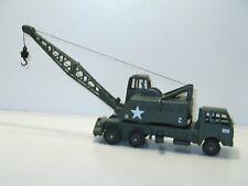 Dinky Toys, Truck Crane 20 Ton, Military US Army Lorry Mountain Skull