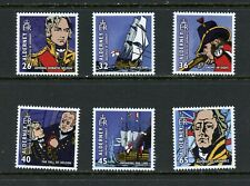X582  Alderney 2005  Battle of Trafalgar   6v.   MNH