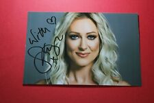 Faye Tozer (Steps) Signed Photo Paper