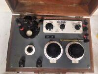 Vintage Cambridge Potentiometer 44228 L439740 with Wooden Box EX-MOD