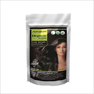 AVADOR Organic Henna Black Hair Color Powder Chemical Free Natural Henna 200 gm