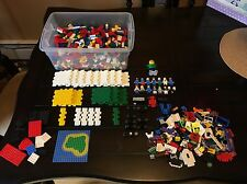 Lot Of 6 lbs Of Lego + 13 Figures + Assorted Base Pieces + Specialty Piece Legos