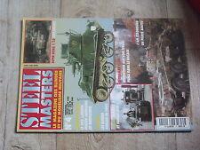 $$u Revue Steel Masters N°4 AMX Leclerc  Renault R 40  Sturmtiger  AM Staghound