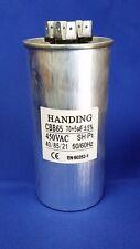 70+5uf 450 Volt Handing Round Dual Run Capacitor, CBB65-70+5,440-705DR