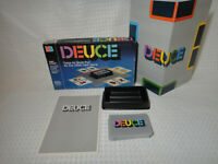 Vintage 1985 Deuce by Milton Bradley Card Game Complete