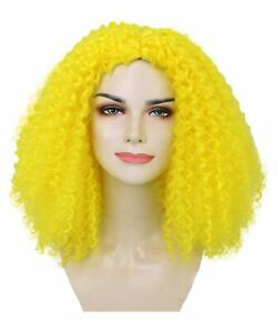 Adult Women's Shoulder Length Curly Witch Wig