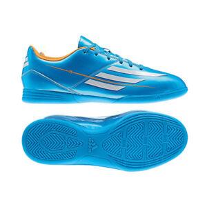 Adidas F5 In J Blue & Wht & Org