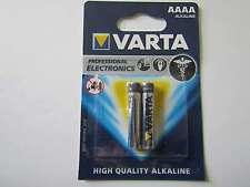 2x AAAA Batterie Alkali-Mangan LR8D425 640mAh 1,5V Varta AR1100
