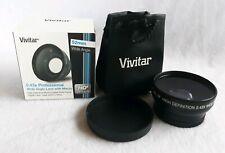 VIVITAR 0.43x Wide Angle Lens for Panasonic Palmcorder PV-DV202,GS500,DV51,DV953