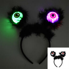 Flashing Eyeball Hoop Party Halloween Props Glowing Big Eyes Alien Headbands ÁÁ