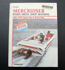 MERCRUISER Stern Drive 86-90 Alpha One Bravo Workshop Service Repair Shop Manual