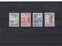 finland 1948 red cross  mnh   stamps set ref 7421