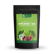 10% OFF Nutra Organics super greens + reds powder 1Kg